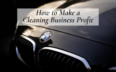 How to Make a Cleaning Business Profit