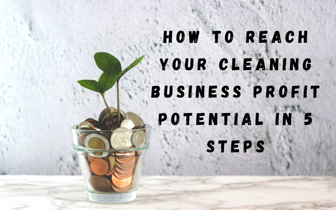 How to Reach Your Cleaning Business Profit Potential in 5 Steps
